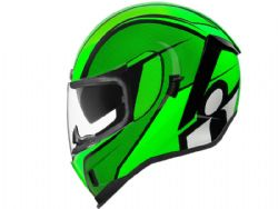 Casco Icon Airform Conflux Verde