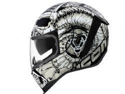 Casco Icon Airform Sacrosant Blanco