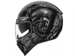 Casco Icon Airform Sacrosant Negro