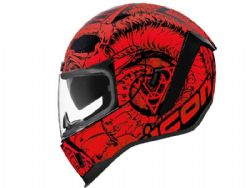 Casco Icon Airform Sacrosant Rojo