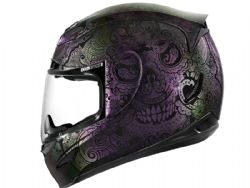 Casco Icon Airmada Chantilly Opal Morado
