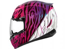 Casco Icon Airmada Wild Child Purple