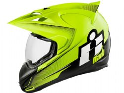 Casco Icon Variant Double Stack Amarillo