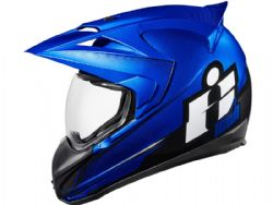 Casco Icon Variant Double Stack Azul