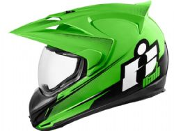 Casco Icon Variant Double Stack Verde