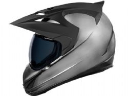 Casco Icon Variant Quicksilver Plata