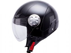 Casco Mt Urban Kid Solid Negro Brillo