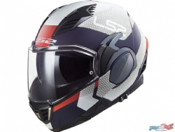 Casco LS2 FF900 Valiant 2 Citius Blanco / Azul