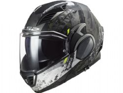 Casco LS2 FF900 Valiant 2 Gripper Titanio Mate