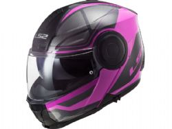 Casco LS2 FF902 Scope Axis Negro / Rosa