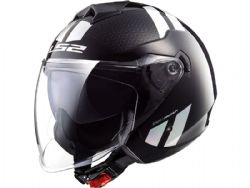 Casco Ls2 OF573 Twister 2 Combo Black Rainbow