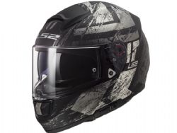 Casco Ls2 FF397 Vector Hunter Negro Mate / Titanio