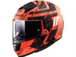 Casco Ls2 FF397 Vector Hunter Naranja / Negro