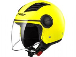 Casco Ls2 OF562 Airflow L Solido Amarillo Fluor