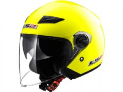 Casco Ls2 OF569 Track Solid Amarillo Fluor