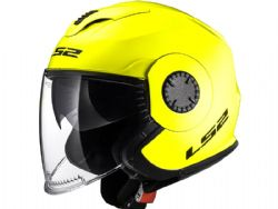 Casco Ls2 OF570 Verso Solido Amarillo Fluor