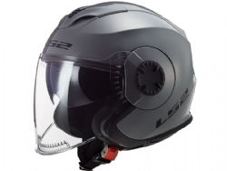 Casco Ls2 OF570 Verso Solido Nardo Gris