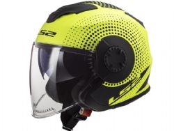 Casco Ls2 OF570 Verso Spin Amarillo Mate