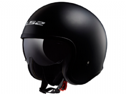Casco Ls2 OF599 Spitfire Negro