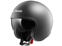 Casco Ls2 OF599 Spitfire Titanio Mate