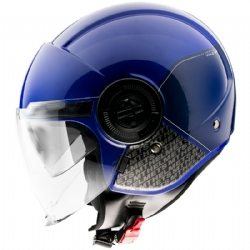 Casco MT Viale Sv Break A7 Azul Brillo