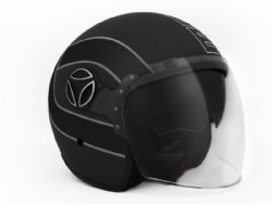 Casco Momo Design Arrow Negro Mate