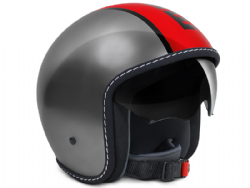 Casco Momo Design Blade Metal Rojo