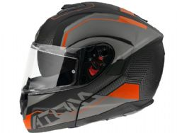 Casco Mt Atom Sv Quark A4 Naranja Mate