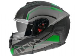 Casco Mt Atom Sv Quark A6 Verde Mate