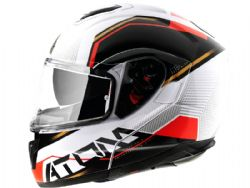 Casco Mt Atom Sv Quark B5 Rojo Brillo