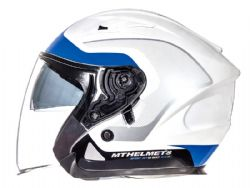 Casco Mt Avenue Crossroad Pearl White-Blue