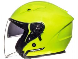 Casco MT Avenue Sv Solid Amarillo Flúor