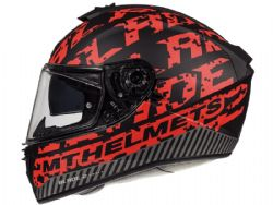 Casco Mt Blade 2 Sv Check B5 Rojo mate