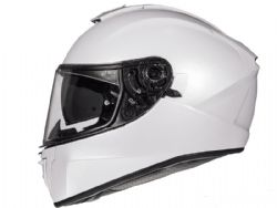 Casco Mt Blade 2 Sv Solid A0 Blanco Perla Brillo