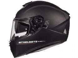 Casco Mt Blade 2 Sv Solid A1 Negro Mate