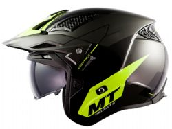 Casco MT District SV Summit H3 Amarillo Fluor