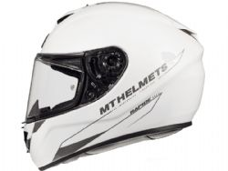 Casco Mt Rapide Solid A0 Brillo Blanco Perla