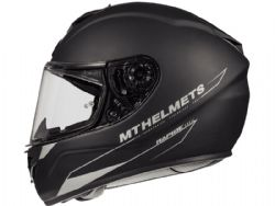 Casco Mt Rapide Solid A1 Negro Mate