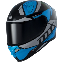 Casco Mt Revenge 2 Scalpel A7 Azul Brillo