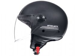 Casco MT Street Entire C9 Negro Mate