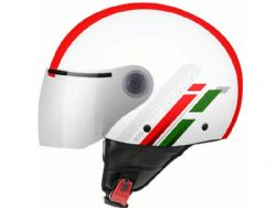 Casco MT Street Scope C5 Rojo Brillo