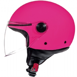 Casco Mt Street Solid A8 Rosa Brillo
