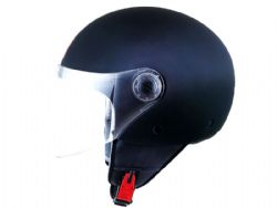 Casco Mt Street Solid Matt Black