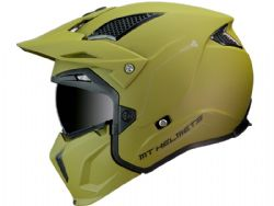 Casco MT Streetfighter SV Solid A6 Verde Mate