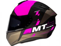 Casco Mt Targo Rigel A8 Rosa Mate