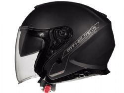 Casco MT Thunder 3 Jet Sv Solid A1 Negro Mate