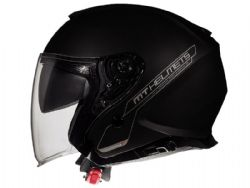 Casco MT Thunder 3 Jet Sv Solid A1 Negro Brillo