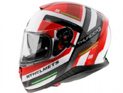 Casco Mt Thunder 3 Sv Carry C5 Rojo