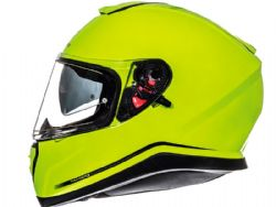 Casco Mt Thunder 3 Sv Solid Amarillo Fluor