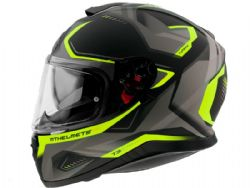 Casco Mt Thunder 3 Sv Turbine C3 Amarillo Fluor Mate